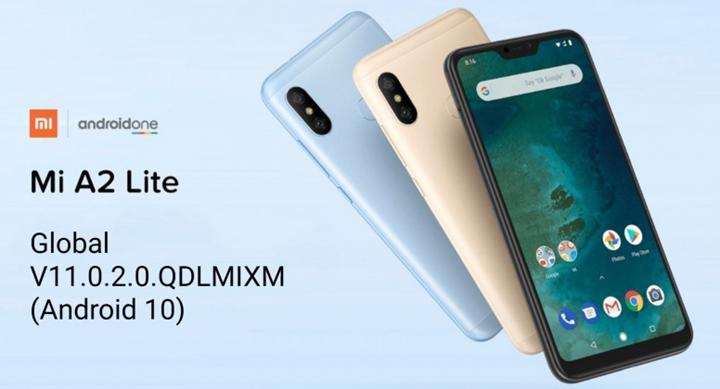 Xiaomi Mi A2 Lite için Android 10 güncellemesi yayınlandı