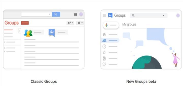 Google Groups sonunda yeni bir tasarıma sahip oluyor