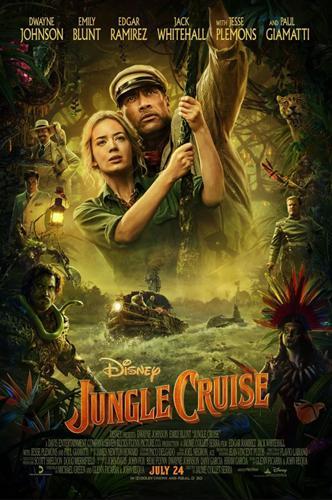 Dwayne Johnson'lı macera filmi Jungle Cruise'dan yeni fragman