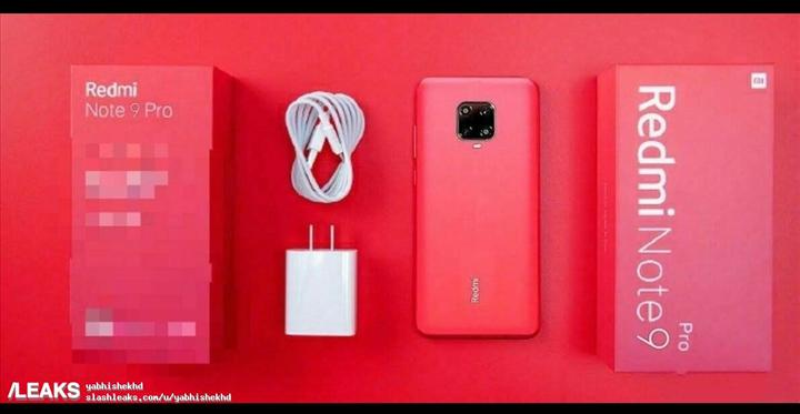 Redmi Note 9 Pro'nun kutu içeriği de belli oldu