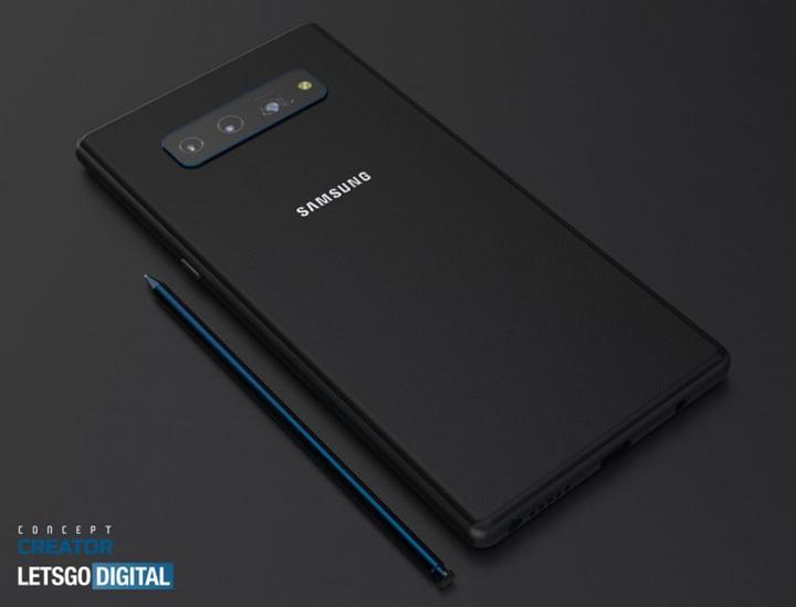 Galaxy Note 20'nin tasarımını açık eden yeni görüntüler