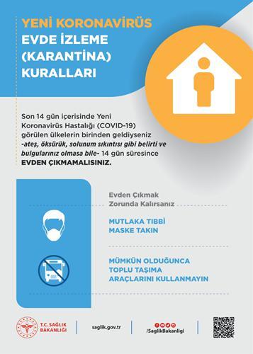 Sağlık Bakanlığı Coronavirüs afişleri yayımlandı