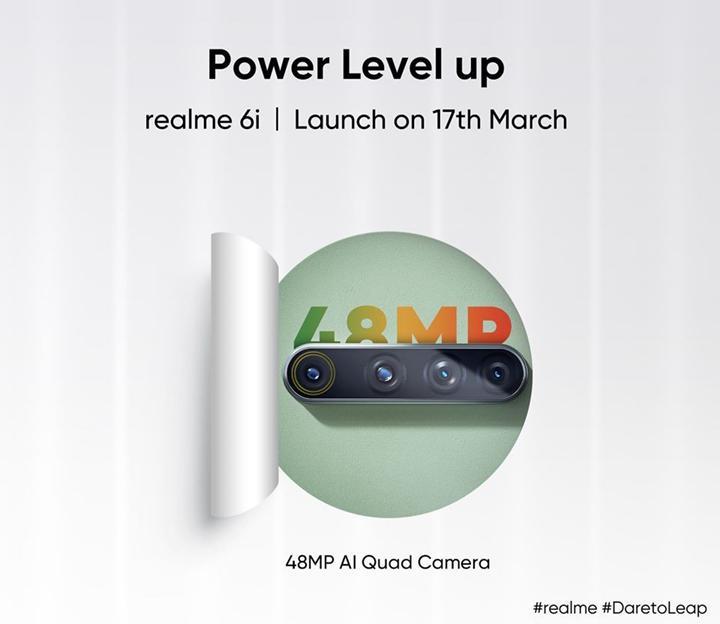 Realme 6i'nin tanıtım tarihi açıklandı: Helio G80 işlemcili ilk telefon geliyor