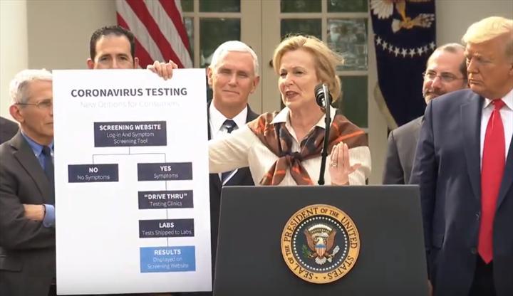 Koronavirüs için Google bir test sayfası hazırlıyor