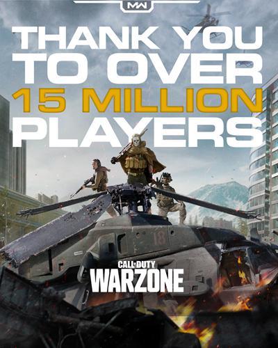 'Call of Duty: Warzone' 4 günde 15 milyon kullanıcıyı aştı!