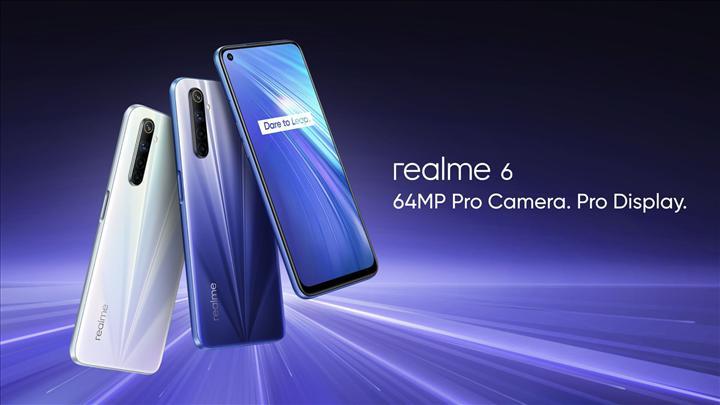 Realme 6 ilk yazılım güncellemesini aldı