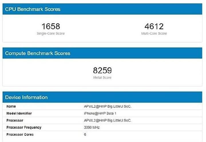 iPhone 12 işlemcisi A14 Bionic'in performans testi sonucu ortaya çıktı: Çekirdek hızında 3GHz bandı aşıldı!