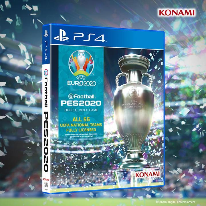 Konami, ertelenmesi gündemde olan EURO 2020 için PES güncelleme paketini tanıttı