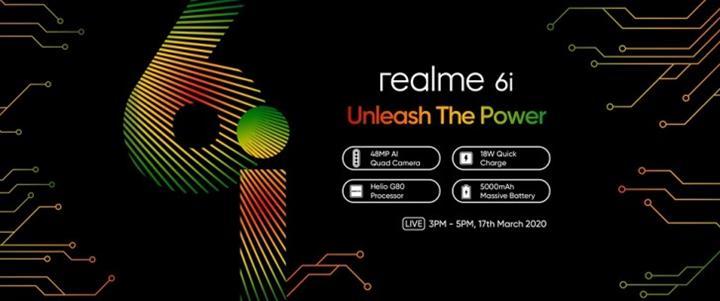 Realme 6i modelinin teknik özellikleri onaylandı