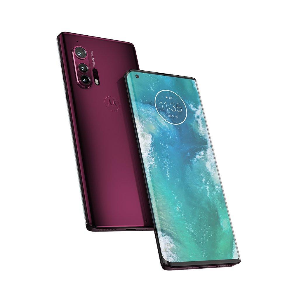 Motorola Edge Plus'ın basın görselleri ortaya çıktı