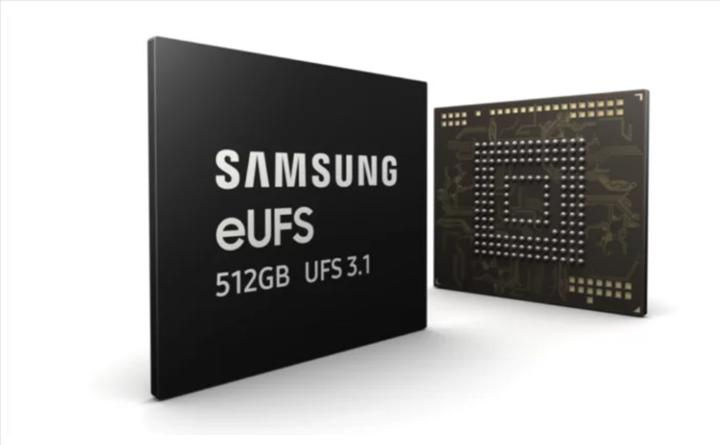 Samsung sektörün ilk 512GB eUFS 3.1 belleğini üretmeye başladı