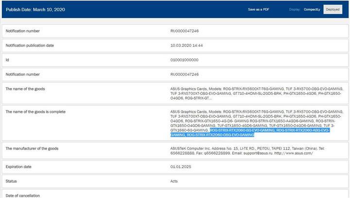 RTX 2060 da 8 GB VRAM'le güncelleniyor