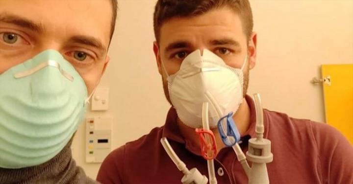 Üç boyutlu yazıcıyla basılan valfler, İtalya'da KOVİD-19 hastalarının hayatını kurtardı