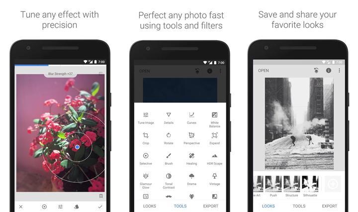 Google iki yıldır unuttuğu Snapseed'i yeniden hatırladı