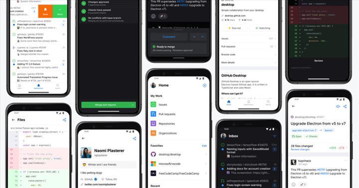 GitHub mobil uygulaması indirmeye sunuldu