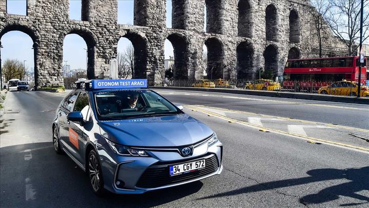 İstanbul trafiğinde sürücüsüz araç testleri başladı