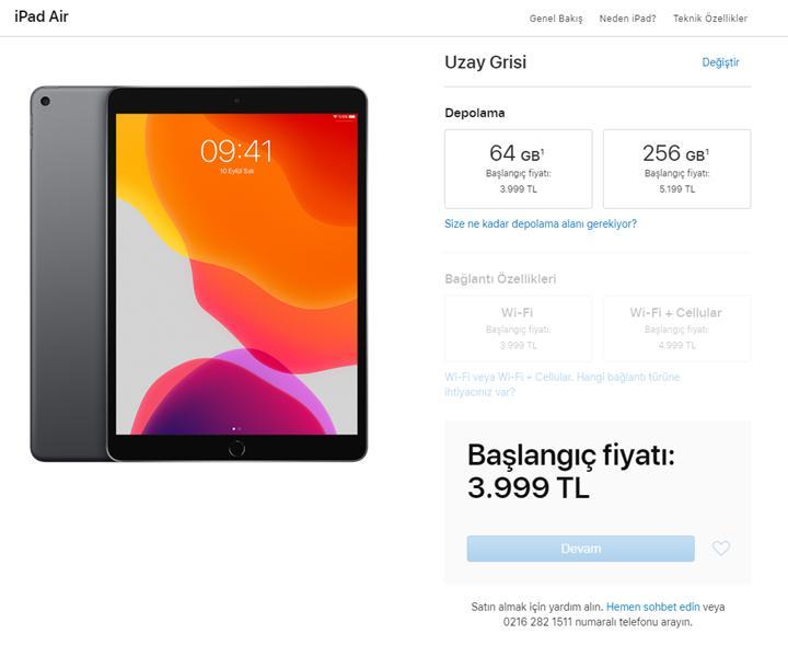 Apple'dan eski iPad'lerin Türkiye fiyatına zam!