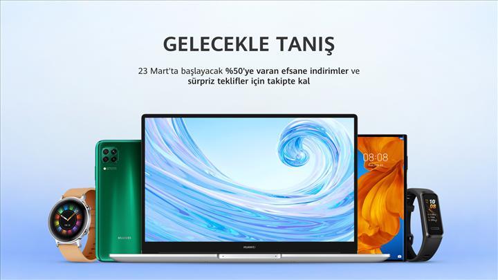 Huawei Türkiye'nin Online Mağaza açılış tarihi açıklandı