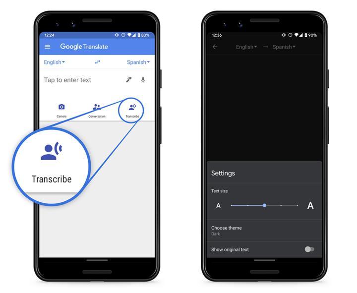 Google Translate'in gerçek zamanlı çeviri özelliği kullanıma sunuluyor