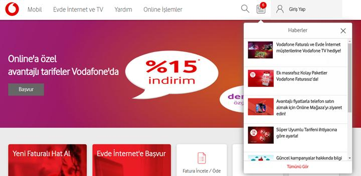 Vodafone'lulara Vodafone TV ücretsiz