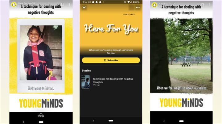 Snapchat, koronavirüs anksiyetesini yenmek için ruhsal destek araçlarını kullanıma sundu