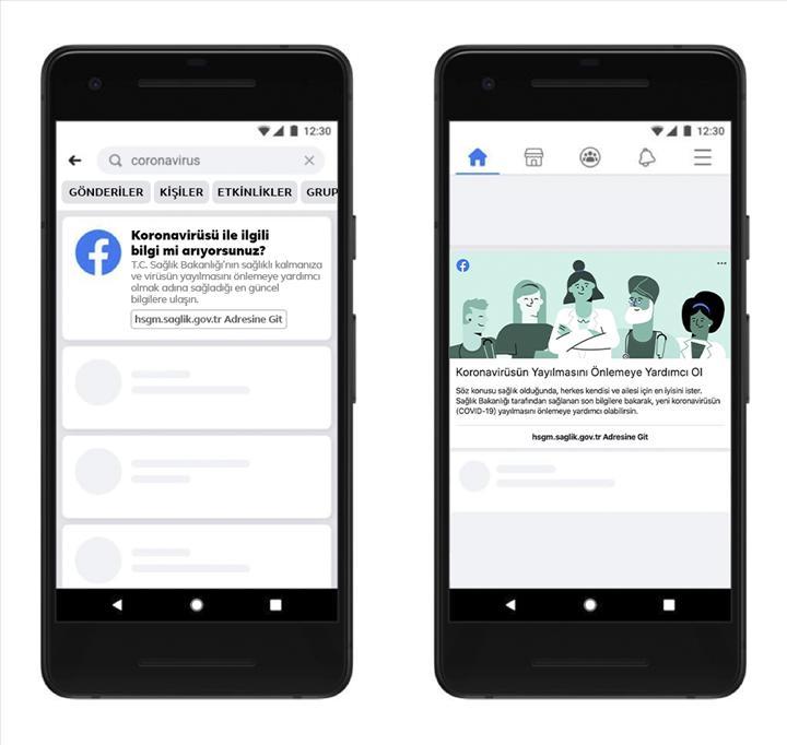 Facebook ve Sağlık Bakanlığı'ndan iş birliği