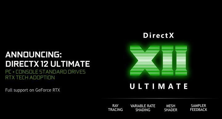 DirectX 12 Ultimate destekleyen ekran kartları ve konsol tarafı