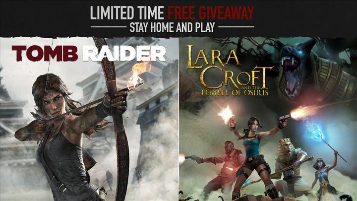 Lara Croft oyunları ve Headsnatchers kısa süreliğine Steam üzerinde ücretsiz
