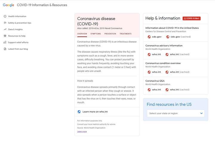 Google'ın Koronavirüs için hazırladığı web sitesi açıldı! Koronavirüs haritası ve daha fazlası