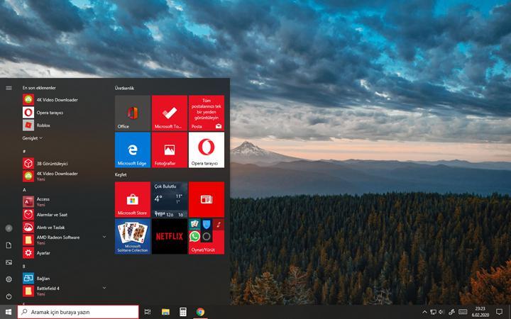 Windows 10 yeni arayüzü Instagram paylaşımında göründü
