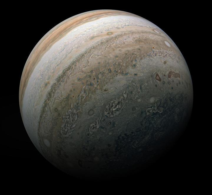 Jüpiter'i tüm ihtişamıyla gösteren bu inanılmaz fotoğrafa bir göz atın