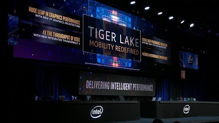Sızan Tiger Lake-U işlemcisi Core i7-1065G7'nin önünde