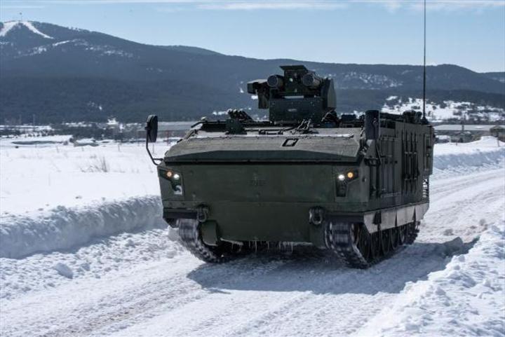 TSK yeni nesil tank avcılarıyla güçleniyor: 6 adet Kaplan STA teslim edildi