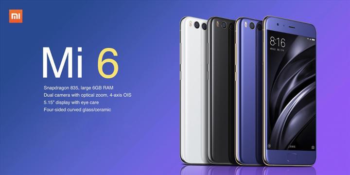 Xiaomi Mi 6 küllerinden doğuyor