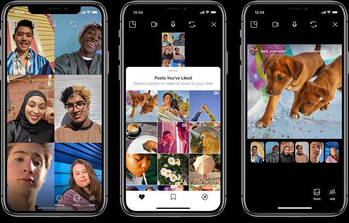 Instagram görüntülü sohbete ortak gönderi gezintisini getiriyor