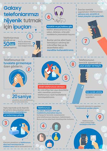 Koronavirüse karşı telefon temizliği nasıl yapılır? Samsung açıkladı