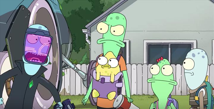 Rick and Morty'nin yaratıcısından yeni dizi: 'Solar Opposites' fragmanı yayınlandı