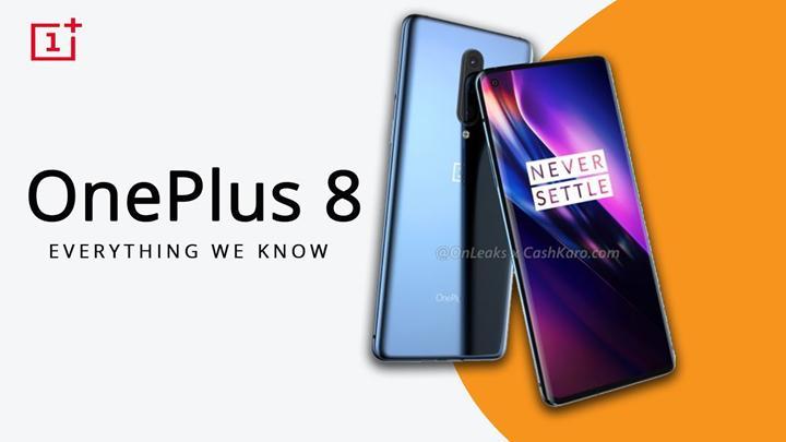 OnePlus 8 ve OnePlus 8 Pro özellikleri sızdırıldı