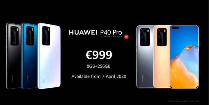 Huawei P40 Pro tüm ihtişamıyla karşınızda! İşte özellikleri ve fiyatı