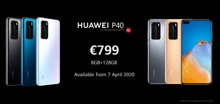 Huawei P40 tanıtıldı: İşte özellikleri ve fiyatı