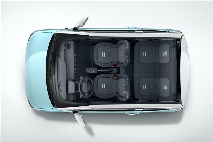 Elektrikli şehir aracı Wuling E5C, küçük boyutlarına rağmen 4 kişilik kabiniyle şaşırtıyor
