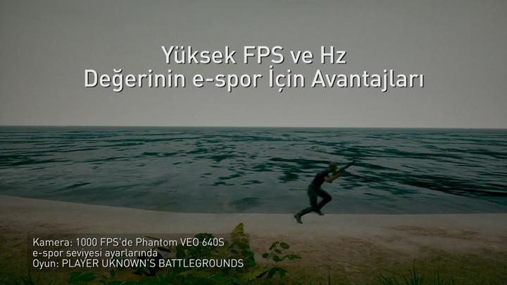 Yüksek tazeleme hızı ve FPS'in rekabetçi oyunlarda etkisi