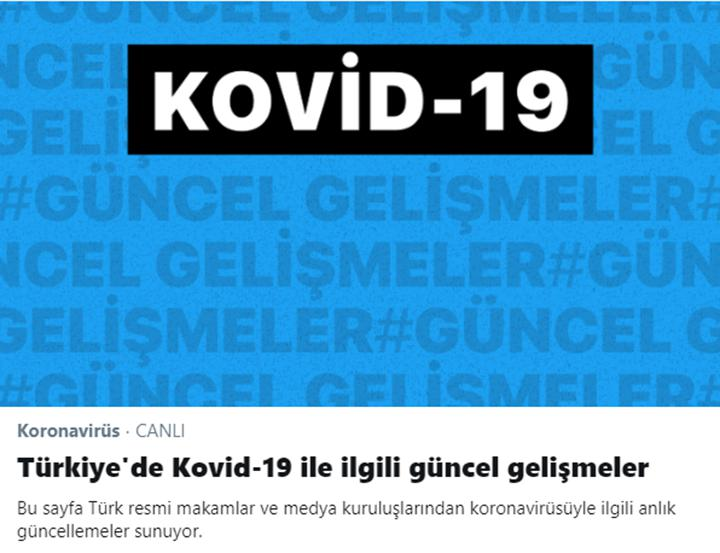 Facebook ve Twitter'dan Türkiye'ye özel Koronavirüs bilgi merkezi