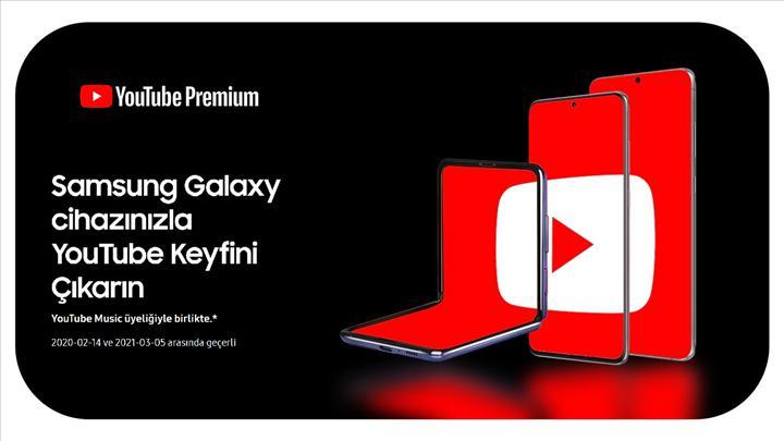 Samsung'dan kullanıcılarına YouTube Premium hediyesi