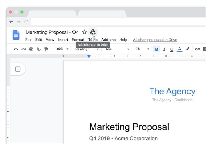 Google Drive kısayolları, organizasyonu kolaylaştırmak için kullanıma sunuldu