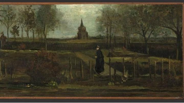 Van Gogh'un tablosu müzeden çalındı