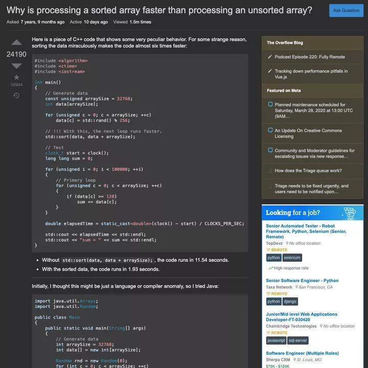 Stack Overflow uzun zamandır beklenen karanlık moda sahip oluyor