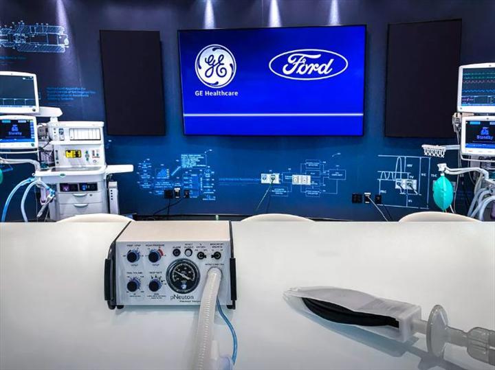 Ford, koronavirüs hastaları için 100 günde 50 bin ventilatör üretecek