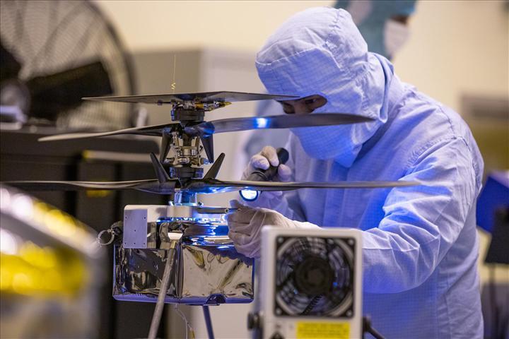'Mars helikopteri' artık tamamıyla hazır: Bu yaz fırlatılıyor