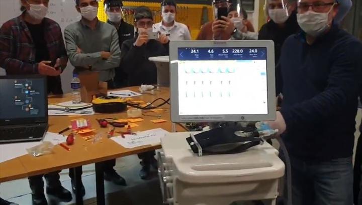 Yerli solunum cihazında ilk prototip üretimi tamamlandı